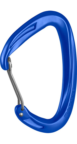 Mammut Crag Carabiner Wire Gate ultramarine